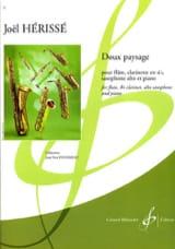 Doux paysage Joël Herissé Partition Quatuors - laflutedepan.com