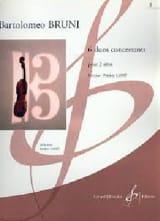 6 Duos Concertants Vol 2 Antonio Bartolomeo Bruni laflutedepan.com