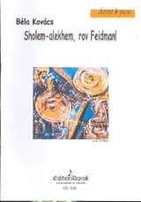 Sholem Alekhem, Rov Feidman! Bela Kovacs Partition laflutedepan