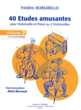 Frédéric Borsarello - 40 Fun Studies Vol.2 - Sheet Music - di-arezzo.com