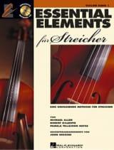 Allen Michael / Robert Gillepsie / Pamela Tellejohn Hayes - Essential Elements für Streicher - Violin, volume 1 - Sheet Music - di-arezzo.com