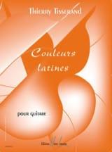 Couleurs Latines - Thierry Tisserand - Partition - laflutedepan.com