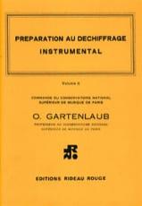 Préparation au Déchiffrage Volume C Odette Gartenlaub laflutedepan.com