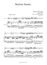 6ème Sonate Op.71 N°3 DEVIENNE Partition Hautbois - laflutedepan