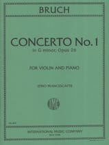 Max Bruch - Concerto No. 1 Minor Floor Op.26 - Sheet Music - di-arezzo.co.uk