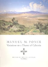 Variations On A Theme Of Cabezon Manuel Maria Ponce laflutedepan