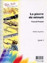 La pierre de minuit -Violon Pascal Proust Partition laflutedepan.com