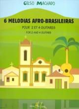 6 Melodias Afro-Brasileiras Celso Machado Partition laflutedepan.com