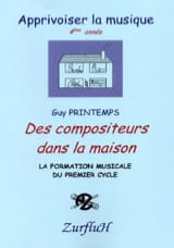 Guy Printemps - Composers In The House - Sheet Music - di-arezzo.com