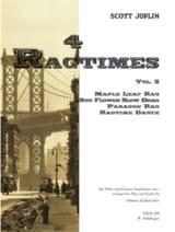 Scott Joplin - 4 Ragtimes - Volume 2 –Flöten Gitarre - Partition - di-arezzo.fr