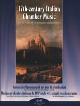 - 17th Century Italian Chamber Music - Partition - di-arezzo.fr