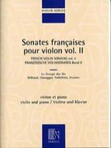 Sonates françaises pour violon - Volume 2 laflutedepan.com
