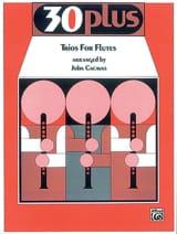 30 Plus Trios For Flûte compositeurs Divers Partition laflutedepan