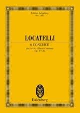 6 Concerti Op.4/7 - 12 Pietro Antonio Locatelli laflutedepan.com
