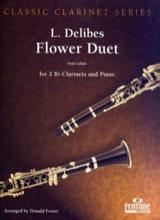 Duos des Fleurs (Lakmé) - Leo Delibes - Partition - laflutedepan.com