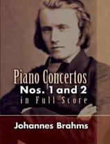 Piano Concertos N°1 et 2 - Full Score BRAHMS laflutedepan.com