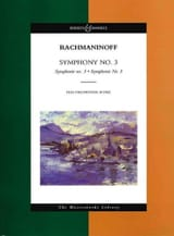 RACHMANINOV - Symphony N ° 3 - Sheet Music - di-arezzo.com