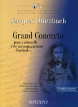 Jacques Offenbach - Grand Concerto Military Concerto - Sheet Music - di-arezzo.com