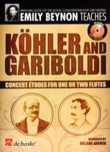 Etudes de Concert KÖHLER - GARIBOLDI Partition laflutedepan.com