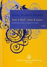 Suite en Si Mineur - Georg Friedrich Haendel - laflutedepan.com