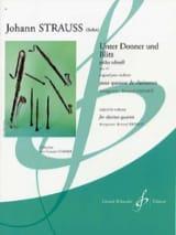 Johann (Fils) Strauss - Unter Donner Und Blitz Op.324 - Partition - di-arezzo.fr