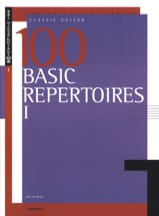 100 Basic Repertoire - Book 1 Partition Guitare - laflutedepan.com