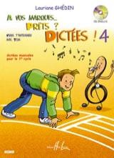 A Vos Marques, prêts, dictées - Volume 4 Elève laflutedepan.com