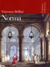 La Norma BELLINI Partition Grand format - laflutedepan