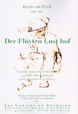 Jacob van Eyck - Der Fluyten Lust-Hof Volume 1 - Partition - di-arezzo.fr