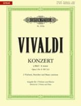 VIVALDI - Concerto In A minor. Op.3 N ° 8 - Rv 522 - Sheet Music - di-arezzo.com