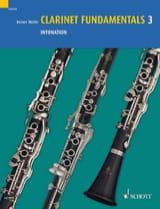 Clarinet Fundamentals 3 - Intonation Reiner Wehle laflutedepan