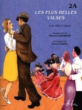 Vincent Charrier - Les Plus Belles Valses Vol.2a - Flûte - Partition - di-arezzo.fr