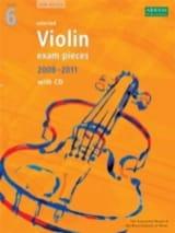 - Selected Violin Exam Pieces grade 6 / 2008-2011 - Partition - di-arezzo.fr