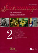 Michael Langer - 500 Jahre Musik For Klassische Gitarre Vol 2 - Sheet Music - di-arezzo.co.uk