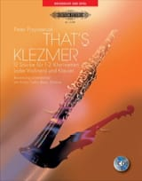 That's Klezmer - Peter Przystaniak - Partition - laflutedepan.com