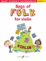 Bags Of Folk For Violon - Mary Cohen - Partition - laflutedepan.com