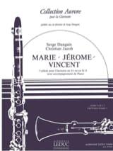 Dangain Serge / Jacob Christian - Marie-Jérome-Vincent - Partition - di-arezzo.fr