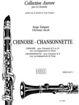 Dangain Serge / Jacob Christian - Chinoise – Chansonnette - Partition - di-arezzo.fr