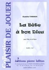 Kumiko Tanaka - La Bête à Bon Dieu - Partition - di-arezzo.fr