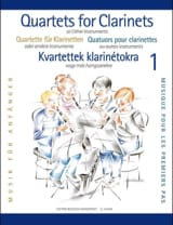 Clarinet Quartets For Beginners Partition laflutedepan.com