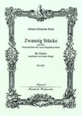20 Pièces Extr. Petit Livre d'A.M. Bach - laflutedepan.com