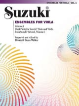 Suzuki - Ensembles For Viola Volume 1 - Partition - di-arezzo.fr
