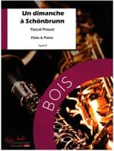 Un Dimanche à Schönbrunn Pascal Proust Partition laflutedepan.com