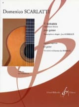 4 Sonates Domenico Scarlatti Partition Guitare - laflutedepan.com