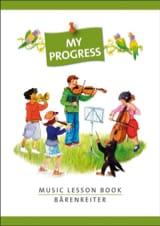 Music Lesson Book de Musique Cahier Papier laflutedepan.com