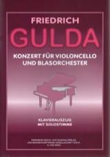 Concerto Pour Violoncelle Friedrich Gulda Partition laflutedepan.com