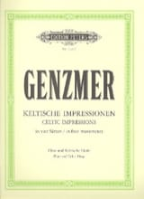 Harald Genzmer - Impressions Celtiques - Partition - di-arezzo.fr