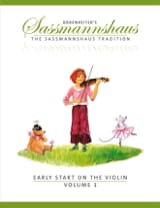Egon Sassmannshaus - Early Start On The Violin Volume 1 - Sheet Music - di-arezzo.com