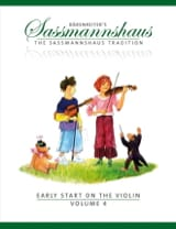 Egon Sassmannshaus - Early start on the violin vol.4 - Sheet Music - di-arezzo.co.uk