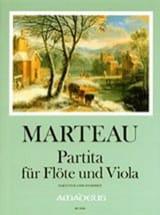 Partita Opus 42 N°2 Henri Marteau Partition Duos - laflutedepan.com